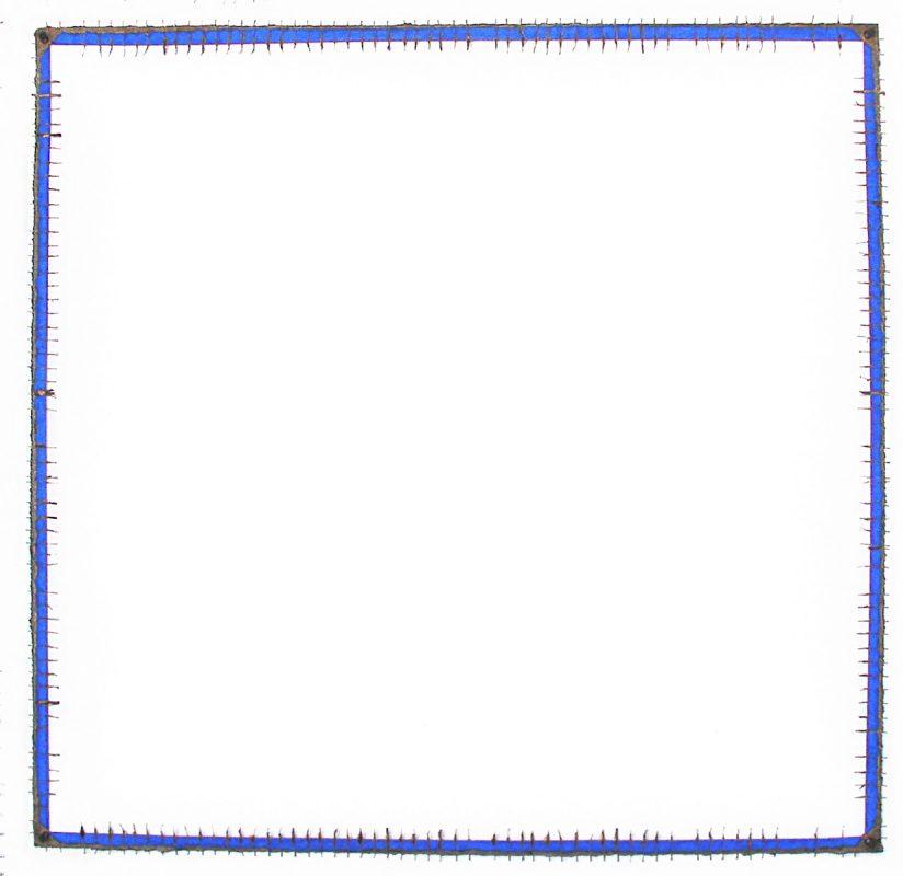 Cadre limite bleu