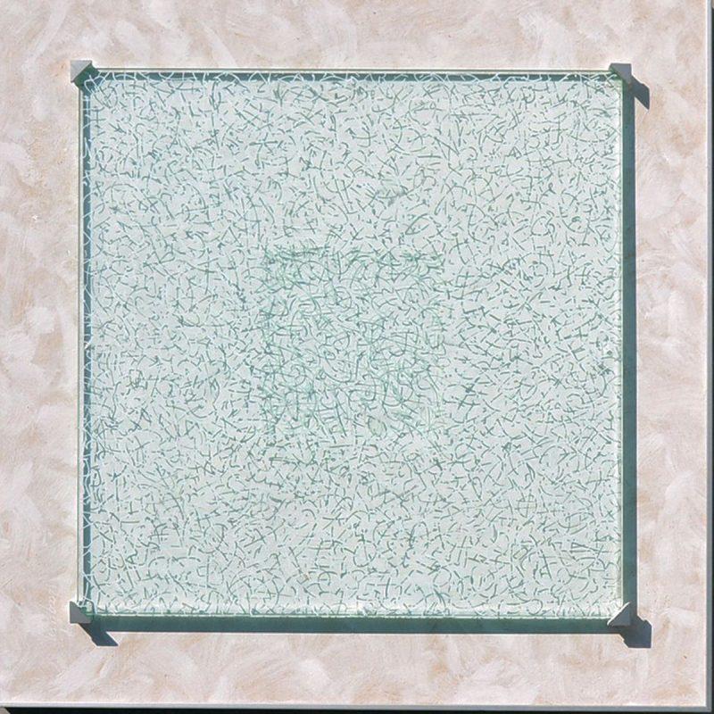Ombres d'écrits  sur et sous verre