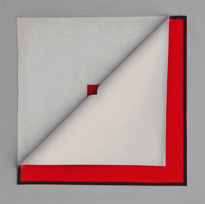 Vinyle Rouge ouvert