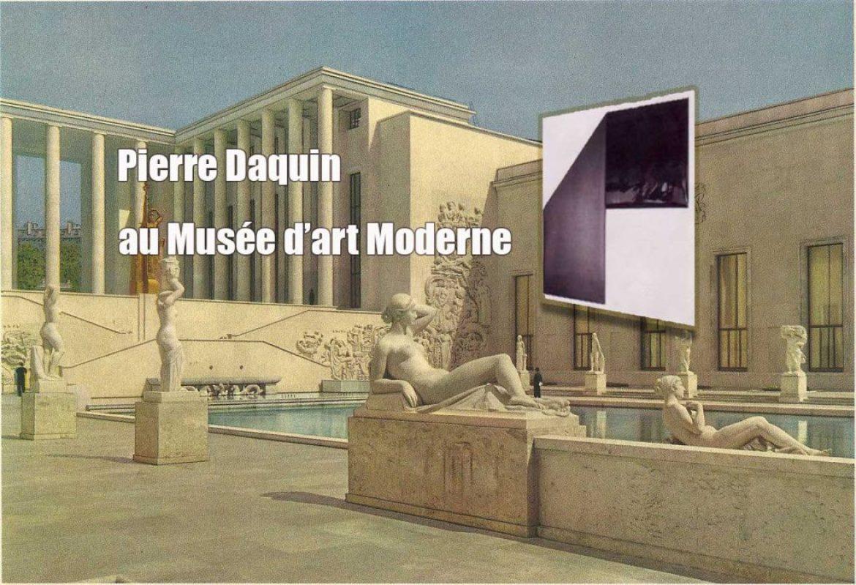 Le « Pli Vinyle envers endroit, 1973 » de Pierre Daquin au Musée d'art Moderne de Paris